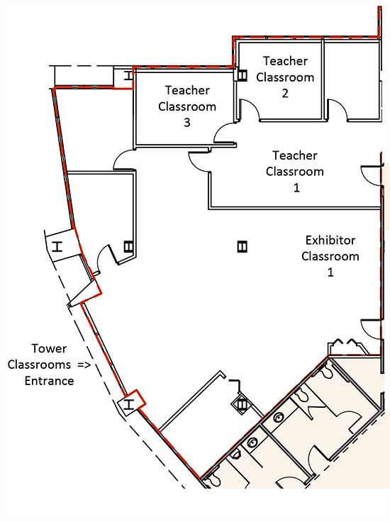 Tower Classrooms